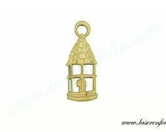 Lantern candle, made of medium size 5cm