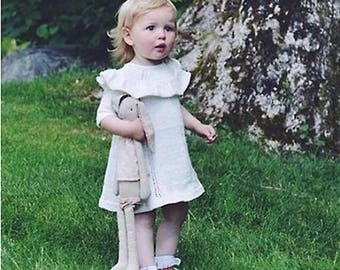 Chaconia Dolls baby knit sweater dress
