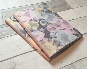 A5 Original Bubble Design Exercise Book  // Handbound Book // Stationery // gifts for women // stationery gifts