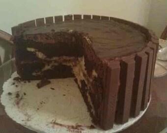 Chocolate Fudge Kahlua Cake