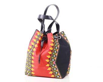 SABRINA Pull-string Bag