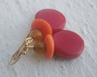 Buckles: Tagua and agate dragon vein