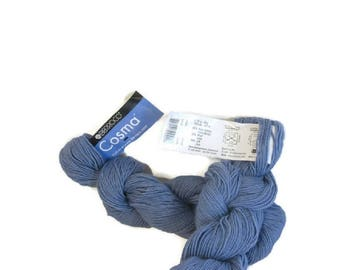Fil, laine, mérinos laine alpaga soie tricot, Crochet Berroco Cosma Chunky cadeau pour les femmes des cadeaux uniques, Eco friendly cadeau pour son Iris n ° 2429