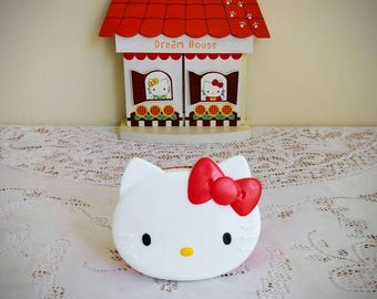 Vintage Hello Kitty - Collectible Hello Kitty Snack Container - Sanrio 1991
