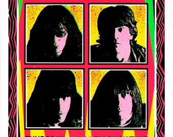 POSTER Ramones Concert Art by Mark Arminski Signed