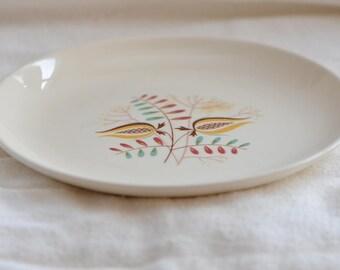 Dessert Plates, Set of 2, Vintage, MCM, Possibly Taylor Smith Taylor