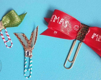 Holiday planner clips