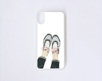 Sneakers iPhone X Case - Nike Illustration iPhone Case - Fashion iPhone X Case - Sneaker Illustration iPhone Case - Fruit iPhone Case