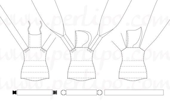 PDF Pattern English Meilipotai A La Carte Adjustable Mei