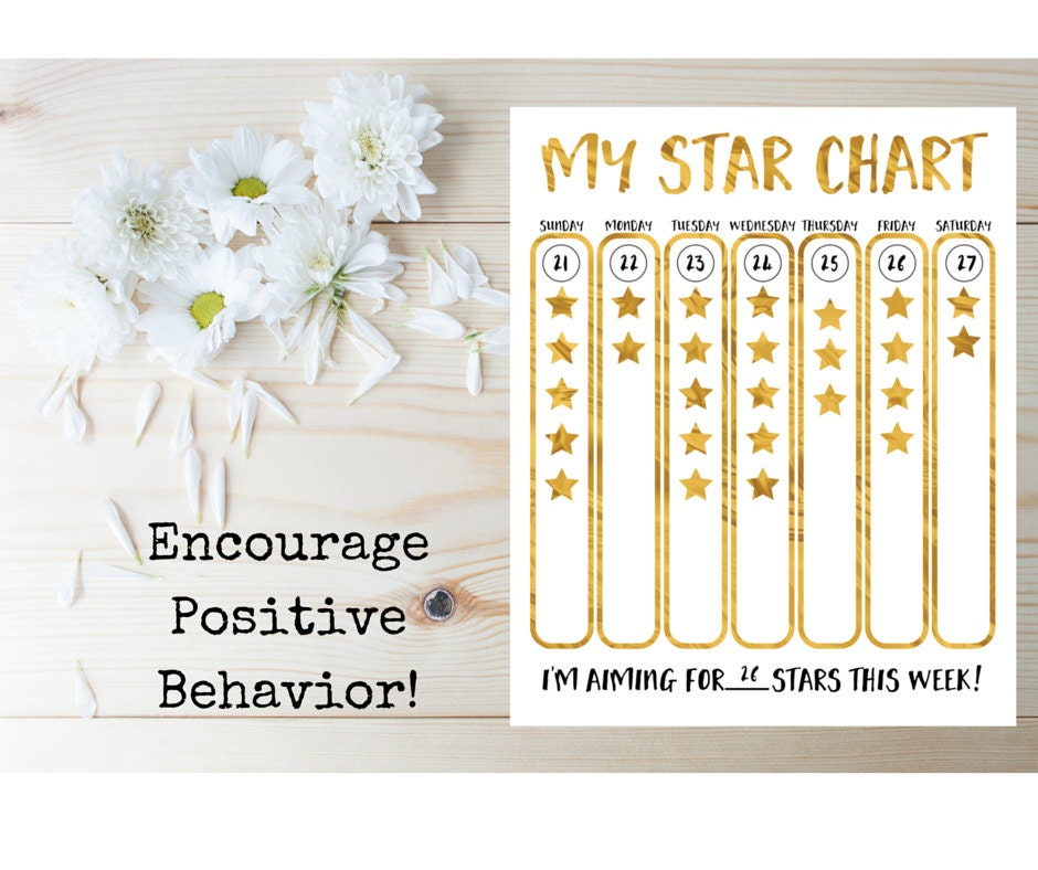 KidS Star Chart Printable KidS Star Chart