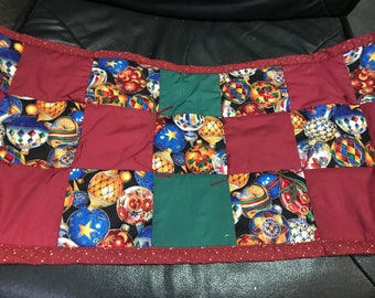 """12"""" X 27"""" Table Runner with Ornaments"""