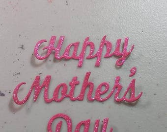 Happy Mothers Day Words 2 to a set