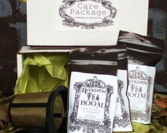 Organic Tea Trio Care Package with Brew Basket