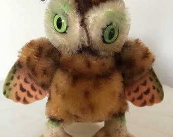 Steiff owl - Wittie owl