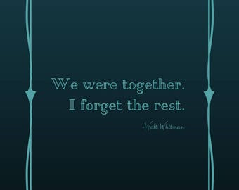 We Were Together
