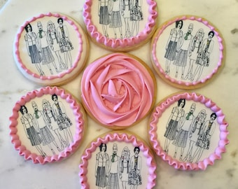 Organic Sugar Cookies with Edible Images