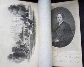1864 'A Place in Thy Memory' by Mrs. S. H. DeKroyft - Victorian Book by Blind Author
