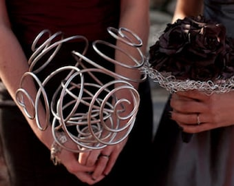 Metal Wedding Bouquet: For the Bride Who Wants Something Different
