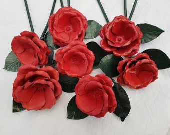 Light Red Rose Decoration