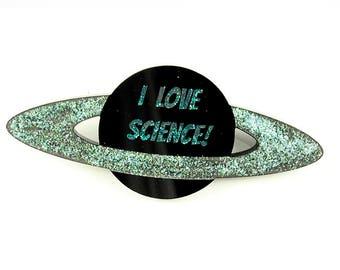 Me encanta el broche de la ciencia
