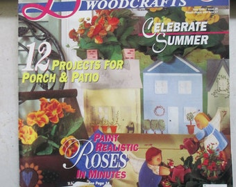"Spring issue ""Decorative Woodcrafts"" back issue  used magazine June 1996"