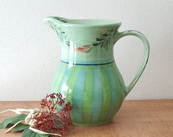 Ceramic Pitcher By Gail Pittman Provence Southern Living Made in the USA