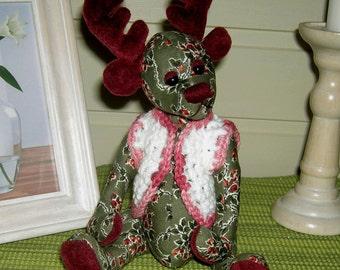 Rudolph the Red Nose Reendier, Moose Prancer/ Pattern 22cm