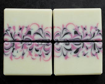 Handmade soap - Pomegranate + Black Currant