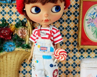 Sugarbabylove - Star overall set for Blythe