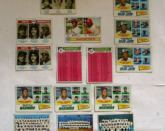 These 15  (G or better cond)  MAJOR League Baseball cards. All are Topps brand 1979 uncommon type Cards.  PLEASE see description