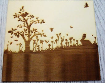 mini blanket 1140 wooden creations