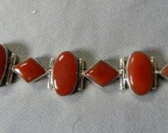 Sterling Silver and semiprecious stones Bracelet