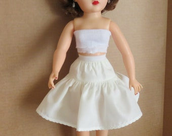 "Doll clothing 18"" Miss Revlon Petticoat and Panty Set Whisper Taffeta Drop Waist"