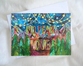 CARD - No Fear in Love