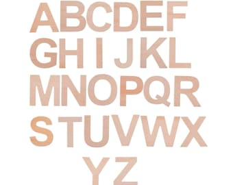 ABC Sign - wooden letters- playroom wood sign - wall hanging letters - wooden alphabet set - letters for nursery