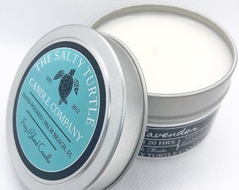 BLUE HAWAII:  Soy Blend Candle Travel Tins and Wax Melts