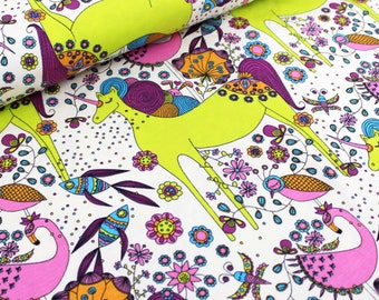 Stoffonkel Unicorn Fantastico Organic Jersey Knit Fabric