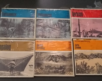 Vintage - 27 Different Languages! Foreign Language Training Courses (1960s)