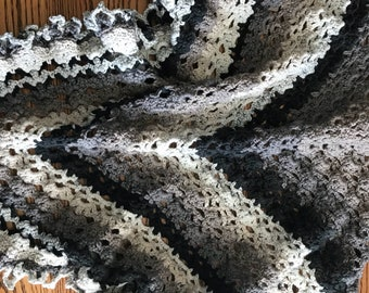 Large oversized shawl
