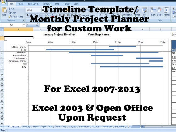 IlxNqljpgversion - Project plan timeline template
