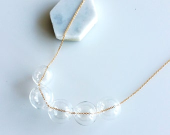 Small Bubbles Necklace