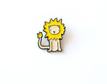 Lewis the Lion enamel pin | limited edition