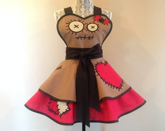 Voodoo Doll Apron - Cosplay Apron