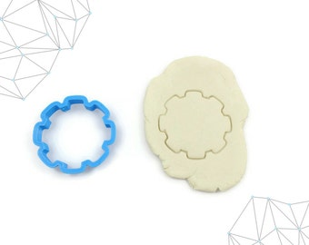 Gear Cookie Cutter, Tool Cookie Cutters, 3D Printed, #220