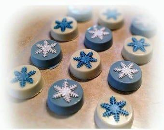 Frozen Snowflake Oreos