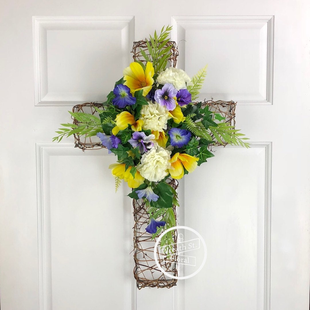 Memorial wreath sympathy wreath cross wreath religious zoom izmirmasajfo