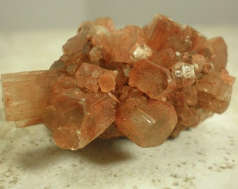 Pocket Sized Aragonite Crystal Cluster, Morocco, Natural Crystal Formation, Energy Booster, Breaking Bad Habits A