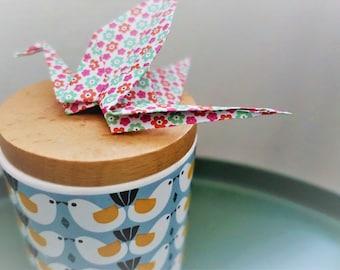Set of 10 origami cranes