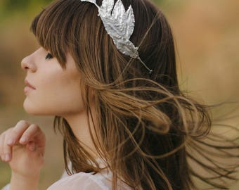 Bridal tiara with crystal Swarovski, Crystal wedding crown