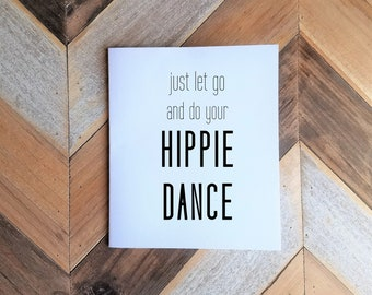 Judah and the Lion Hippie Dance Greeting Card